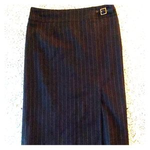 🌼2/$22🌼 Black Pinstripe Pencil Skirt (8)